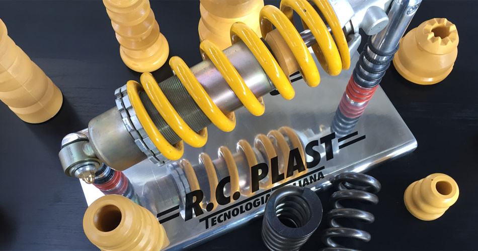 Bump stops polyurethane manufacturer supplier - RC Plast made in italy
